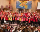 Students from Junior Kindergarten to Grade 8, Jewish Day School students in Toronto, celebrated Chanukkah at the annual Toronto Heschel School concert!