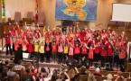 Students from Junior Kindergarten to Grade 8, Jewish Day School students in Toronto, celebrated Chanukkah at the annual Toronto Heschel School concert!